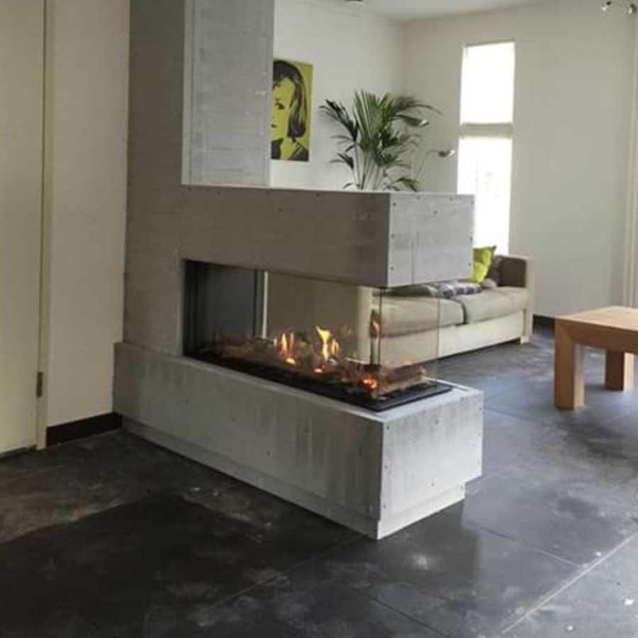 43/105/38/105 газ Room Divider Large-3 frameless - Brunner