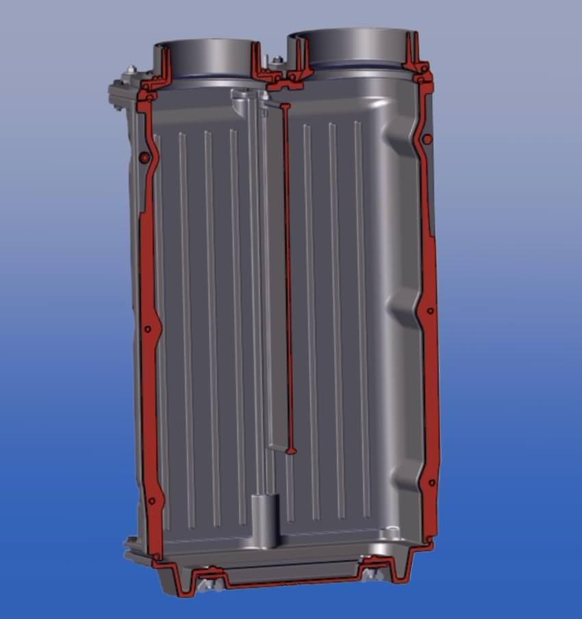 GNF 8, Cast iron radiator чавунний радіатор - Brunner