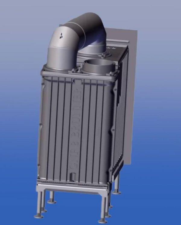 GNF 8, Cast iron radiator чавунний радіатор